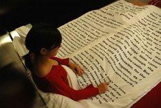 Collezione di biancheria da letto con stampate delle favole, per gli amanti della lettura.
