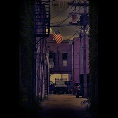 FlagAlley #canoncameras #canonphotography #canon #canon_official #photograhicart #photoshop #alley #americana #americanflag #symbolism #america #symbolism #insta_armagh #freedomthinkers #path #heatercentral
