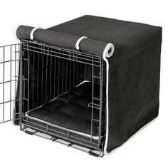 Keep your dog crate classy while also giving your dog privacy and protection with the Storm Crate Cover (http://www.felixchien.com/storm-crate-cover/)