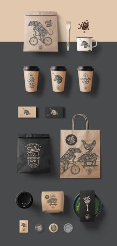 coffee logo Showcase and discover creative - coffee Coffee Shop Branding, Coffee Shop Logo, Cafe Branding, Coffee Shop Design, Coffee Packaging, Bread Packaging, Chocolate Packaging, Bottle Packaging, Corporate Branding