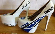 Yamaha R6 high heels