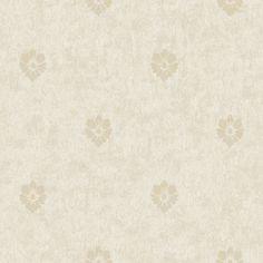 """Fresco Velvet Spot 33' x 20.5"""" Floral and Bontanical 3D Embossed Wallpaper"""