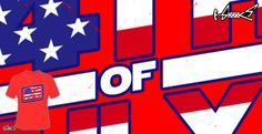 T-shirts - Design: Happy 4th of July - by: Boggs Nicolas