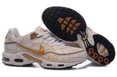 Nike Air Max Tn Mens Cobweb White Golden