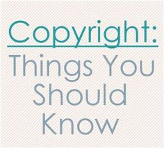 great article on copyright laws for blogs  renatom.net