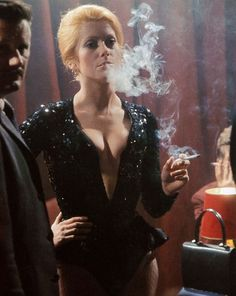 Catherine Deneuve in Mississippi Mermaid,1969.