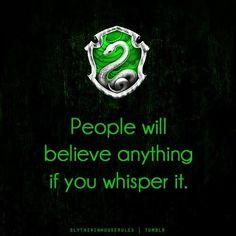 Slytherin Pride :)
