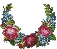 Gallery.ru / Фото #172 - AMA4 - markisa81 Cross Stitch Letters, Cross Stitch Bird, Cross Stitch Borders, Cross Stitch Flowers, Cross Stitch Designs, Cross Stitching, Cross Stitch Embroidery, Hand Embroidery, Embroidery Patterns Free