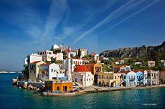 """Kastellorizo (""""Meghisti"""") island, Dodecanese, Greece."""