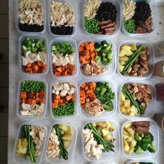 first week prepping an entire week of meals. so satisfying