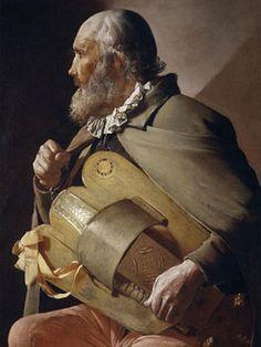 Georges de la Tour. Ciego tocando la zanfonía, 1620-1630. Museo Nacional del Prado