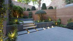 Terrazas de estilo translation missing: mx.style.terrazas.moderno por Paul Marie Creation