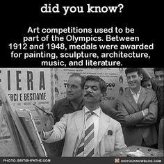 Art in the Olympics?
