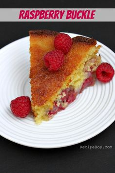 Raspberry Buckle Recipe - RecipeBoy.com