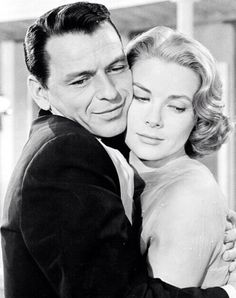 #FrankSinatra and #GraceKelly appeared together in High Society before Johnny Angelini was born. Johnny's mother Betty would have loved reading stories about the princess from Philadelphia.