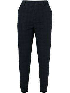 KENZO Checked Tapered Trousers. #kenzo #cloth #trousers