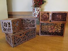 Make: gears boxes