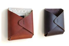 DESU DESIGN  Finding the right gift for your boss can be tedious. Forget the flowers this year and opt for a Bay Area-designed Desu Design object instead. Perfect for getting organized, we particularly love the leather Tasche Wall Pocket (plus it's made right in San Francisco).  Shop: desudesign.com
