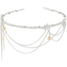 Henri Bendel Starlight Statement Tiara (4680 TWD) ❤ liked on Polyvore featuring accessories, hair accessories, henri bendel hair accessories and henri bendel