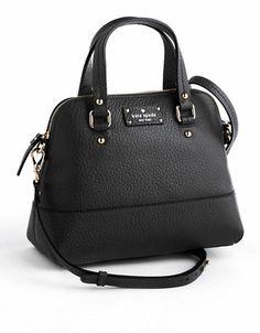 Kate Spade New York Grove Court Maise Leather Crossbody Satchel   bfccab2a52
