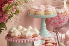 Vintage Shabby Chic Bridal/Wedding Shower Party Ideas | Photo 32 of 54 | Catch My Party