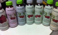 """""""The juice refresh drinks really taste like cherry. They are very refreshing and taste like juice unlike other drinks out there. The juice and tea drinks are all natural and gluten free. The tea ones taste like fruit and fresh tea. They are all so yummy."""""""