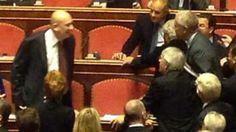 La Stampa - Lite in Senato Bondi-Formigoni Sfiorata la rissa