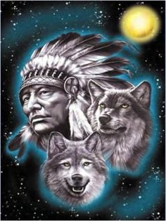 "Cherokee Indians | The grandfather said, ""My son, the battle is between two ""wolves ..."