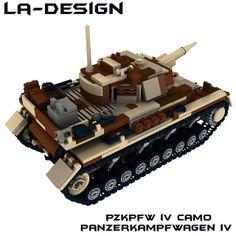 LEGO WW2 PzKpfw 4 Panzer CAMO Tank 4 | Flickr - Photo Sharing!