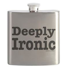 Deeply ironic Flask