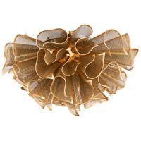 Corbett Lighting 218-31 Pulse LED 23 inch Gold Leaf Semi-Flush Mount Ceiling Light thumb