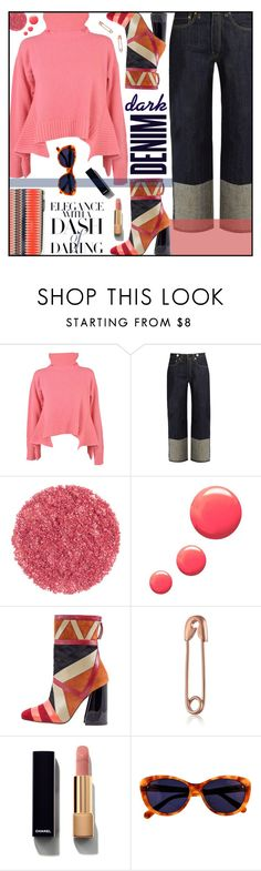 """""""Saturday Sweater Set"""" by sweet-designs ❤ liked on Polyvore featuring Aquilano.Rimondi, rag & bone, Topshop, Alima, Chanel and Taylor Morris"""