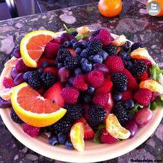 Platter of Fruits #theteadetox #diet #detox #fruits