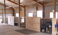 getting ready - Page 2 - Miniature Horse Forum - Lil Beginnings Miniature Horse Talk Forums - Page 2 Mini Horse Barn, Miniature Horse Barn, Horse Barn Plans, Mini Horses, Mini Barn, Miniature Donkey, Barn Stalls, Horse Stalls, Horse Barns