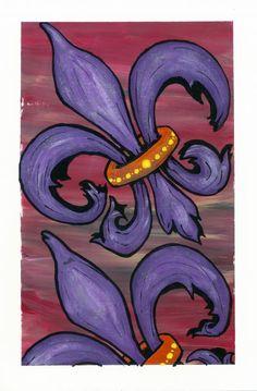 Fleur de Lis Deco