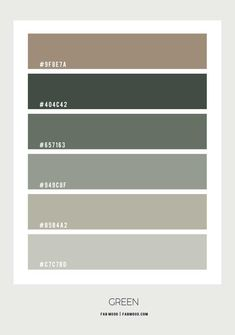 Green bedroom - 15 Earth Tone Colors For Bedroom { Shades of Green }