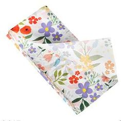Flower tissue paper, perfect for craft projects and wrapping special gifts.