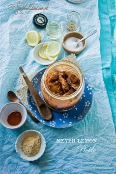 Meyer Lemon Pickle