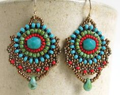 Handmade Jewelry Made Of Beads & Love-Beadwork by DandasCollection