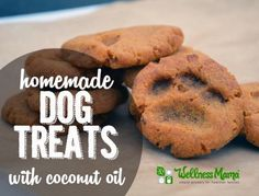 Homemade Dog Treats With Coconut Oil