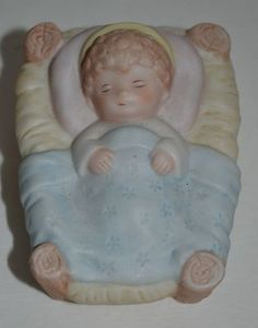 Vintage Homco Porcelain Clown Bear Dog On Ball Figurine