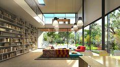 modern home interior   BRUCK