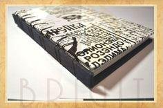 Handmade book / bookbinding - Belgian Binding - Handbound book - Handbound Journal