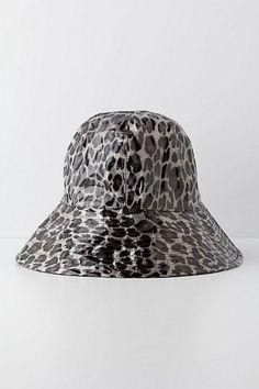 Lynx Splash Rain Hat  #anthropologie