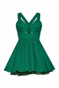 £65.00     Jones and Jones Nicky Dress/ Green    The edgy structured bodice is offset by the oh-so-feminine statement bow at the centre back. The full and flirty skirt flows down from the fitted waist and is enhanced with a net-trimmed petticoat.