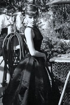 Audrey Hepburn, 1954.