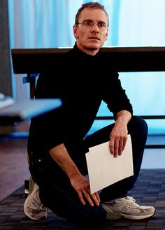 michael fassbender as steve jobs..Give me those shoes .... with him wearing them!!!
