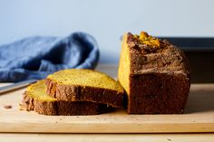 This is a towering, craggy pumpkin bread with a crisp cinnamon sugar lid that is impossible not to pick off in deeply satisfying bark-like flecks.