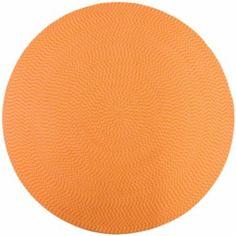 orange and round like the sun