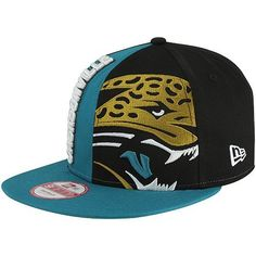 New Era Jacksonville Jaguars Nice Cap 9FIFTY Adjustable Snapback Hat - Teal/Black by New Era. $29.95. Adjustable plastic snap strap. Flat bill. Imported. Quality embroidery. Structured fit. New Era Jacksonville Jaguars Nice Cap 9FIFTY Adjustable Snapback Hat - Teal/BlackQuality embroideryAdjustable plastic snap strapImportedOfficially licensed NFL productFlat bill100% CottonStructured fit100% CottonStructured fitQuality embroideryAdjustable plastic snap strapFlat billImpor...
